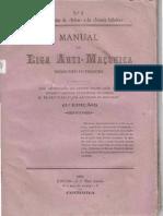 Manual da Liga Antimaçônica