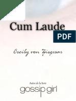 cum laude -  ceciln  von Zieguesar