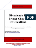 Obteniendo Tu Primer Cheque de ClickBank