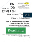 how to learn 7 languages @ barnes method english
