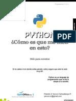 Python Como Es Que Me Meti en Esto