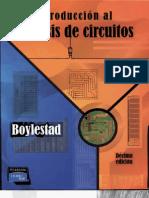 Introducción al Análisis de Circuitos, Robert Boylestad