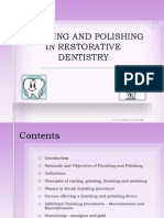 finishing and polishing in restorative dentistry