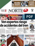 Periodico Norte de Ciudad Juárez 16 de Diciembre de 2012