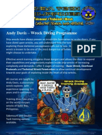 Andy Davis Wreck Diving Courses