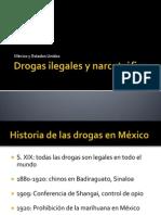 Drogas ilegales y narcotráfico