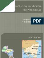 La revolución sandinista de Nicaragua