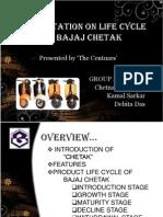 product life cycle of bajaj chetak