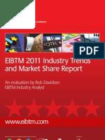 EIBTM 2011 Industry Trends Market Share Report