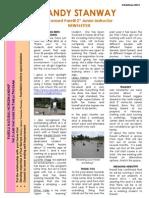 Sandy Xmas 2012 Newsletter
