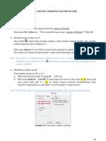 BAB 3 RANGKA PORTAL (FRAME) 3 DIMENSI ANALISIS STATIK SAP2000 15.0