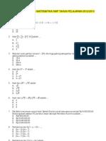 Prediksi Soal UN Matematika SMP 2012_2013
