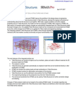Tekla Structure analysis & design Link with Analysis software
