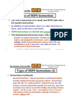 Types of MIPS
