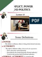 350 Ch13 Conflict Power & Politics