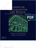 Computer Architecture and Design- Patterson- Hennessy