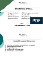 Merakit Personal Komputer SKDK1.ppt