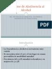 Síndrome de Abstinencia al Alcohol