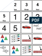 Number Flashcards with Proloquo2Go