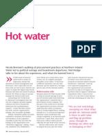 Internal Auditing Magazine December January 2010 - Northern Ireland Water