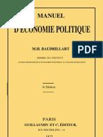 57694511 Henri Baudrillart Manuel d Economie Politique