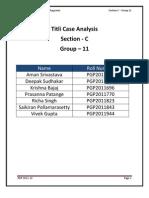 Titli Case Analysis