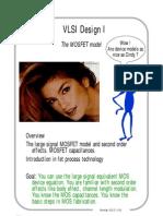 MOSFET model VLSI