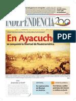 1824 En Ayacucho se conquisto la Libertad de nuestra América.