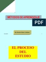 Métodos de aprendizaje IS 16 clases 2012 II