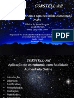 Aplicativo RA de Astronomia