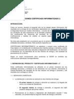 Producto. c2 Cert Inf 2 (20!11!00) - Texto