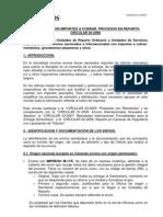 CIRCULAR 2008-05 Importes a Cobrar Procesos en Reparto 8-5-12