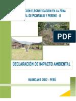 Declaracion de Impacto Ambiental Pichanaki