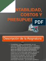 contabilidad, costos y presupuestos