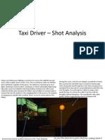 Taxi Driver - Shot Analysis