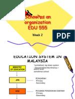 Week 2 - School as an Organization