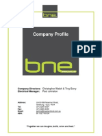 BNE Electrical Profile