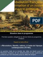 La Revolution Francaise  Affirmation d'un nouvel univers politique.