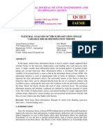 Flexural Analysis of Thick Beams Using Single Variable Shear Deformation Theory