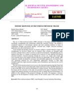 Seismic Response of Frp Strengthened Rc Frame