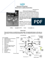 backyard water park manuals and instructions revised 7-10