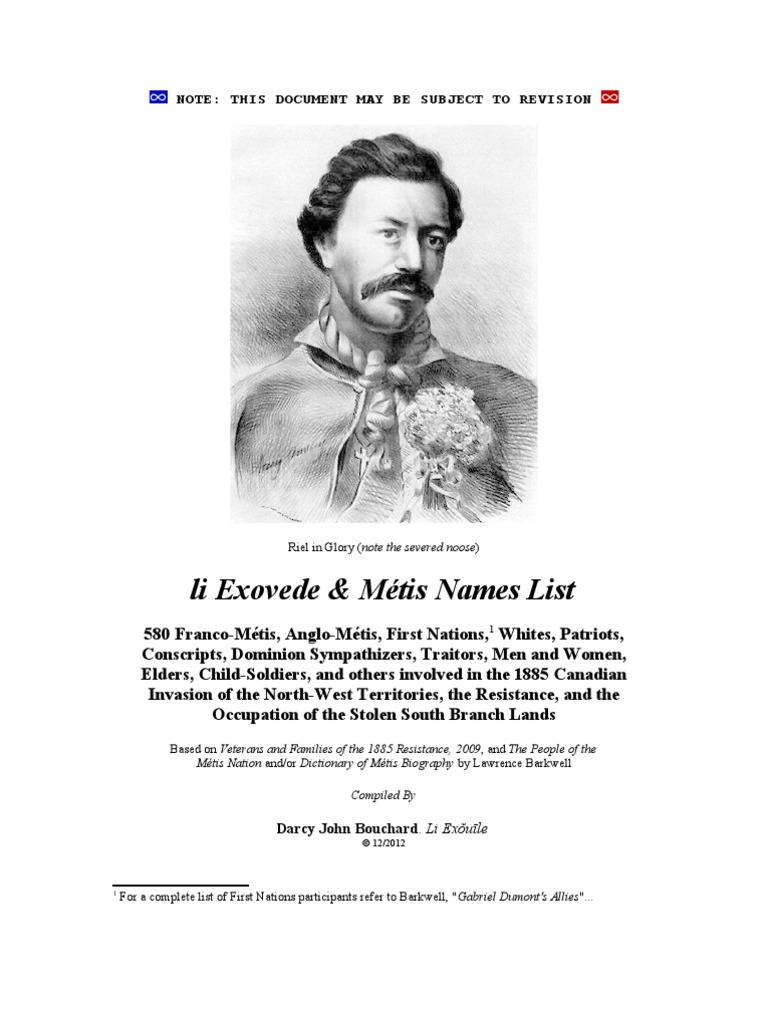 Li exovede m tis names list canada for Articles de maison anglo canadian s e c