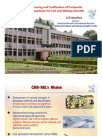 Manufacturing And Certification Of Composite Primary Structures For Civil And Military Aircrafts
