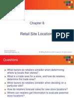 Ch 08 Retail Site Analysis