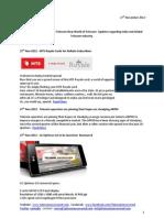Telecom Uncovered Report 27 Nov 2012