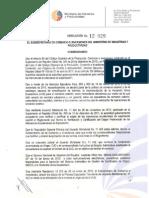RESOLUCION 12 029 ORIGEN - DJO
