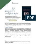 Una visión de la Evolución de la Pedagogía en la convergencia digital