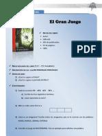 """Ficha de lectura de """"El Gran Juego"""""""