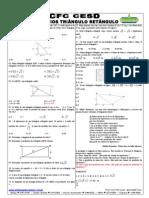 Exercicios Triangulo Retangulo Extra