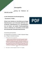 Geltendmachung der Unterhaltsansprüche von Kindern und Zwangsmedikation - Haager Uebereinkommens